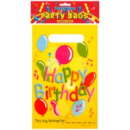 12 Happy Birthday Party Bags